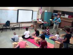Mallet Madness 20 min shows the entire lesson of rotating, chant and the different cue words for the lesson. He has a cute Mexican folk dance on his youtube page as well ABC Form circle dance then add sticks