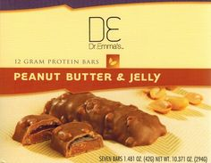 Peanut Butter and Jelly Protein Bars. Visit: dremmasdiet.com/... Get ...