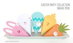 holiday, easter idea, easter jewelri, easter parti, easter party, hoppi easter, easter bunni, treat boxesbag, easter treats
