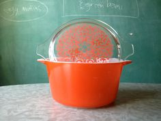 Vintage Pyrex Celtic Floral Rare Promotional by orsysxthefox