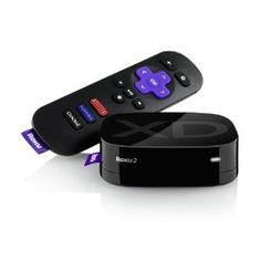 """May have to look into this. Previous pinner said """"Ditched cable with this little box. Exceptional for watching netflix or streaming video rentals from Amazon. Also great with Hulu plus. Less than the cost of one month of cable!"""