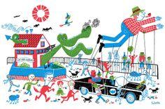 We Are Normal print by S. Britt (via the Merry Blog) #SBritt #parade #WeAreNormal #monster