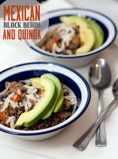 Mexican Black Beans and Quinoa