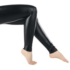 """Original """"Queen Of Darkness""""-""""Leatherlook"""" leggings    Fits like a second skin, shimmers like real leather.    - We recommend hand wash!"""