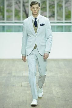 HACKETT LONDON SPRING SUMMER 2013  Source ☂ www.wwd.com
