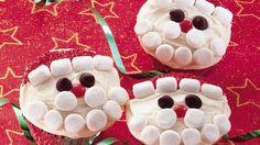 santa cupcak, idea, food, holiday cupcakes, recip, christmas cupcakes, christma cupcak, dessert, kid