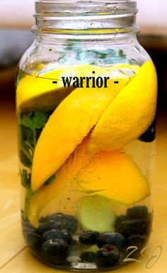 Warrior Vitamin Water- Protect your body from viruses and pathogens that come with the colder season with this warm vitamin water.