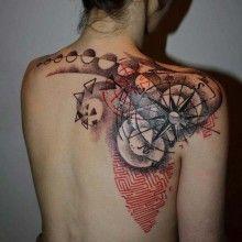 Tatoo on pinterest ami james ny ink and finger tattoos - Tatouage rose des vents ...