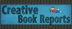 classroom, books, book report, teacher stuff, languag art, creativ book, read, report idea, homeschool