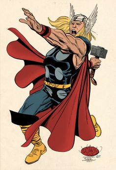 Thor ~ art by John Byrne