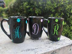 Personalized Coffee Mug. $10.00, via Etsy.