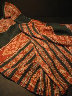 Elegant Vintage Asian Indigo Textile from Indonesia by Luxethnik, $175.00