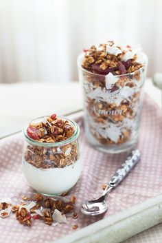 Home-made granola an