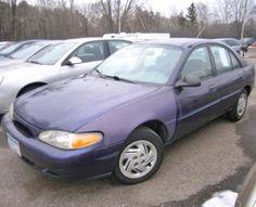 1997 ford escort lx cheap car for sale around 1000 near minneapolis mn. Black Bedroom Furniture Sets. Home Design Ideas