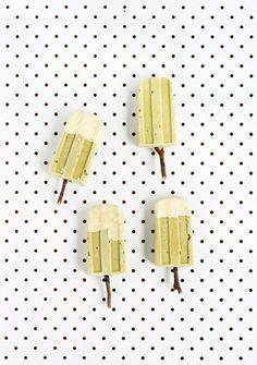 Avocado, Matcha Popsicles...