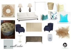 Newlywed Living Room by Poplin & Queen