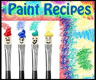 Paint Recipes for kids to have fun with. Use with bible story telling. #paint #recipes #Bible #sunday #school #crafts #kids