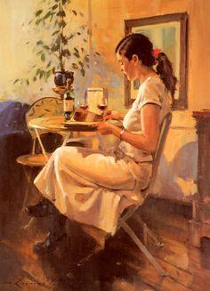 pintura de Raymond Leech