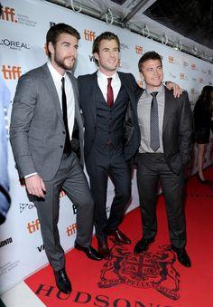 Hemsworth Brothers - Liam, Chris and Luke