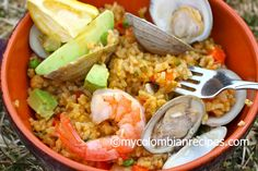 Arroz Marinero (Colombian-Style Seafood Rice)   My Colombian Recipes