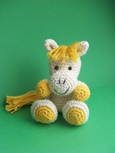 Ravelry: Hilany Horse paard pattern by Elise Pleket