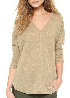 cozy neutral sweater