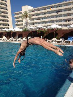 Ksenia Semenova gymnast gymnastics pool flip fun  moved from @Kythoni Gymnast: Russian: Aliya Mustafina   Anna Pavlova   Viktoria Komova   Ksenia Semenova board http://www.pinterest.com/kythoni/gymnast-russian-aliya-mustafina-anna-pavlova-vikto/ m.5.36 #KyFun