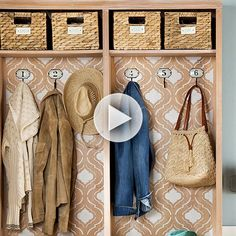 Organize your entryway with our easiest tips here: http://www.bhg.com/videos/m/83871909/entryway-organizer.htm?socsrc=bhgpin080514entrywayorganizer