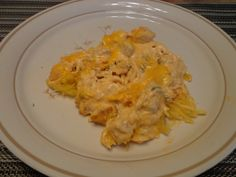 spaghetti squash, meal idea, weight watcher, yummi yummi, cooker eat, slow cooker, chicken spaghetti, buffalo chicken
