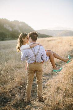 Gorgeous engagement photo shoot inspiration