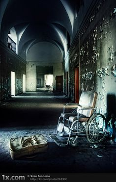more urban decay, #photography el abandono, forgotten place, photo books, urban decay photography, architecture, sven fennema, anime, abandon place, hospitals
