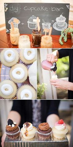 DIY Cupcake Bar - Great Party Idea!!!