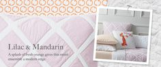 I like this quilt for Maddie's room redesign.