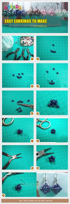 easy earrings to make