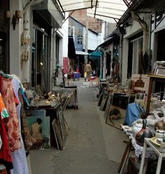 Paris Flea Markets-SO want to go there!