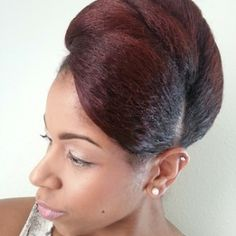 Click the image for Monica's natural hair photos and regimen.