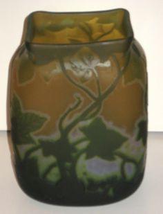 Legras France cameo vase
