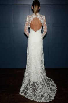 Love this open back.