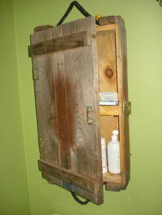 ammo box cabinet
