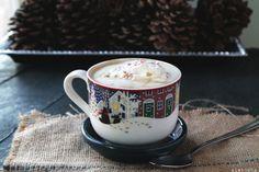 Peppermint White Chocolate Mocha Latte by diethood: Save four bucks! #Latte #Peppermint #White_Chocolate #Mocha