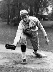 George H.W. Bush played baseball while at the Phillips Academy in Andover, Massachusetts.