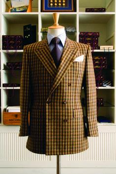 voxsart: Cheviot Tweed DB. Richard Anderson, Savile Row.