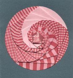 Go Make Something » Iris Folding Project #2 – Circle