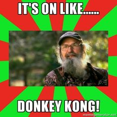 Uncle Si. Duck Dynasty