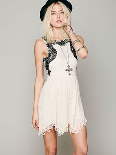 Free People Lace Dream Dress, $128.00