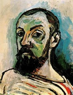 Matisse's Self Portrait in a Red Striped T-Shirt