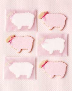Easter Cookies // Little Lamb Cookies Recipe