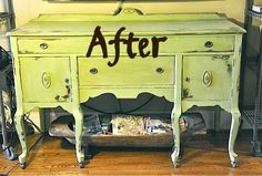 Chalk paint and a little wax