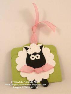 cardsowl punch, paper craft, tag, punchart, stampin, punch idea, owl punch art, sheep, lamb