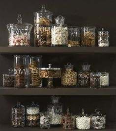 This is a fun alternative to the traditional cookie table setup